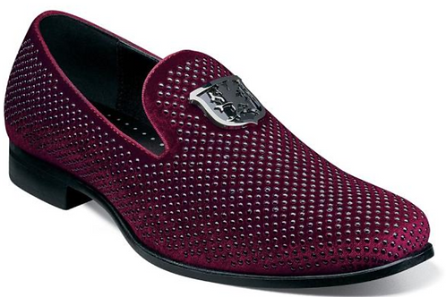 Stacy Adams - Swagger Studded Ornament Slip-On