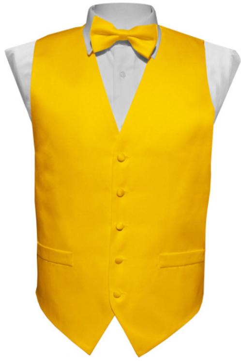 Vest Set Plain - YELLOW