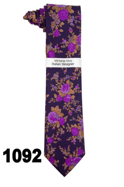 DESIGNER TIE & HANKY - 1092