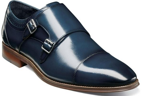 Stacy Adams - Bayne Cap Toe Double Monk