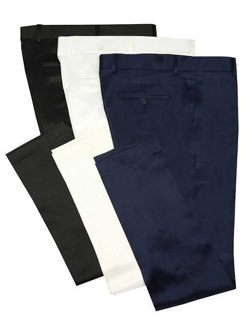 OUS-ST Luxurious Stretch Sateen Pants