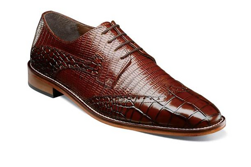 Stacy Adams - Rolando Leather Sole Wingtip Oxford