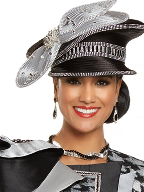 Donna Vinci #H5706 Black/Silver