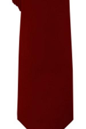 Solid Tie & Hanky - WINE