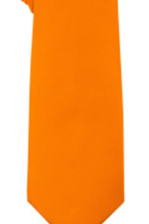 Solid Tie & Hanky - ORANGE