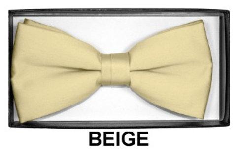 Basic Bow Tie - BEIGE