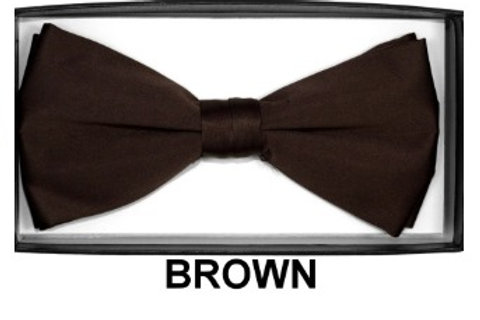 Basic Bow Tie - BROWN