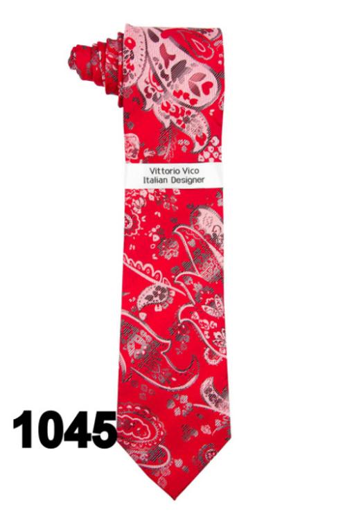 DESIGNER TIE & HANKY - 1045
