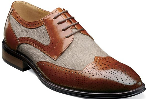 Stacy Adams - Harrison Modified Wingtip Oxford
