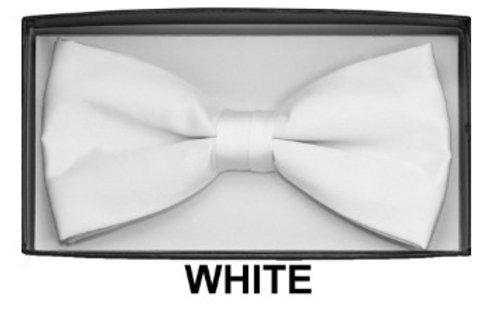Basic Bow Tie - WHITE
