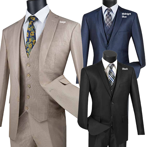 SV2R-3 Slim Fit 3 PCS Suit