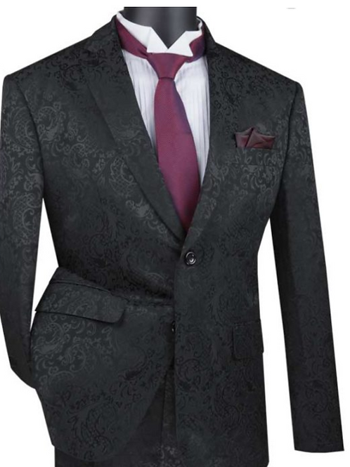 S2F-1 Luxurious Wool Feel Single Breasted Suits