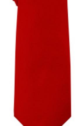Solid Tie & Hanky - RED