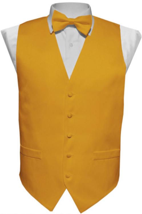 Vest Set Plain - MUSTARD