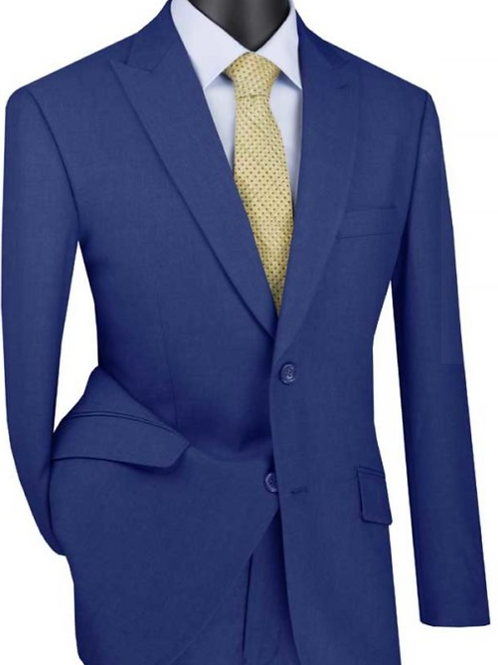 M2TR Modern Fit Suit with Peak Lapel Suit