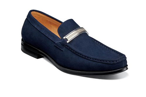 Stacy Adams - Reginald Moc Toe Bit Slip On