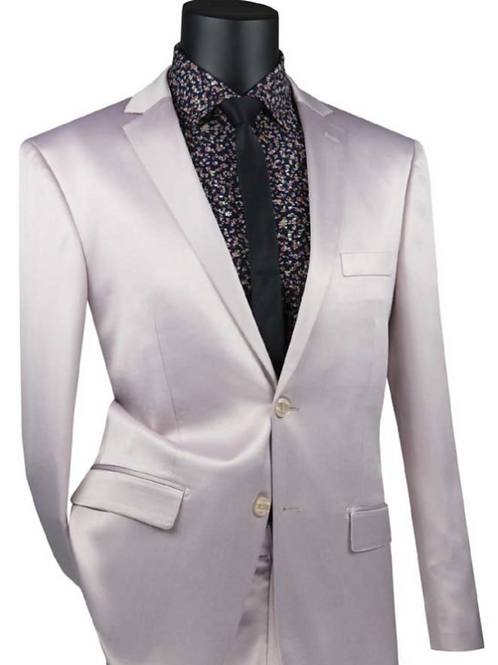 UST-1 Single Breasted 2 buttons, Stretch Sateen Ultra Slim Fit Suit