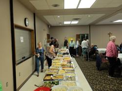 Parish cooks provide a feast.
