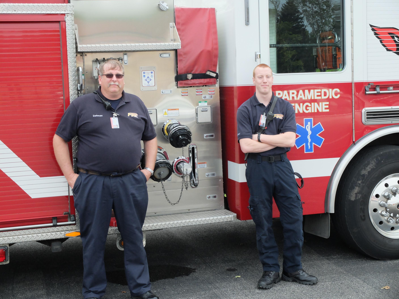 Fire Truck & Extinguisher Trailer.