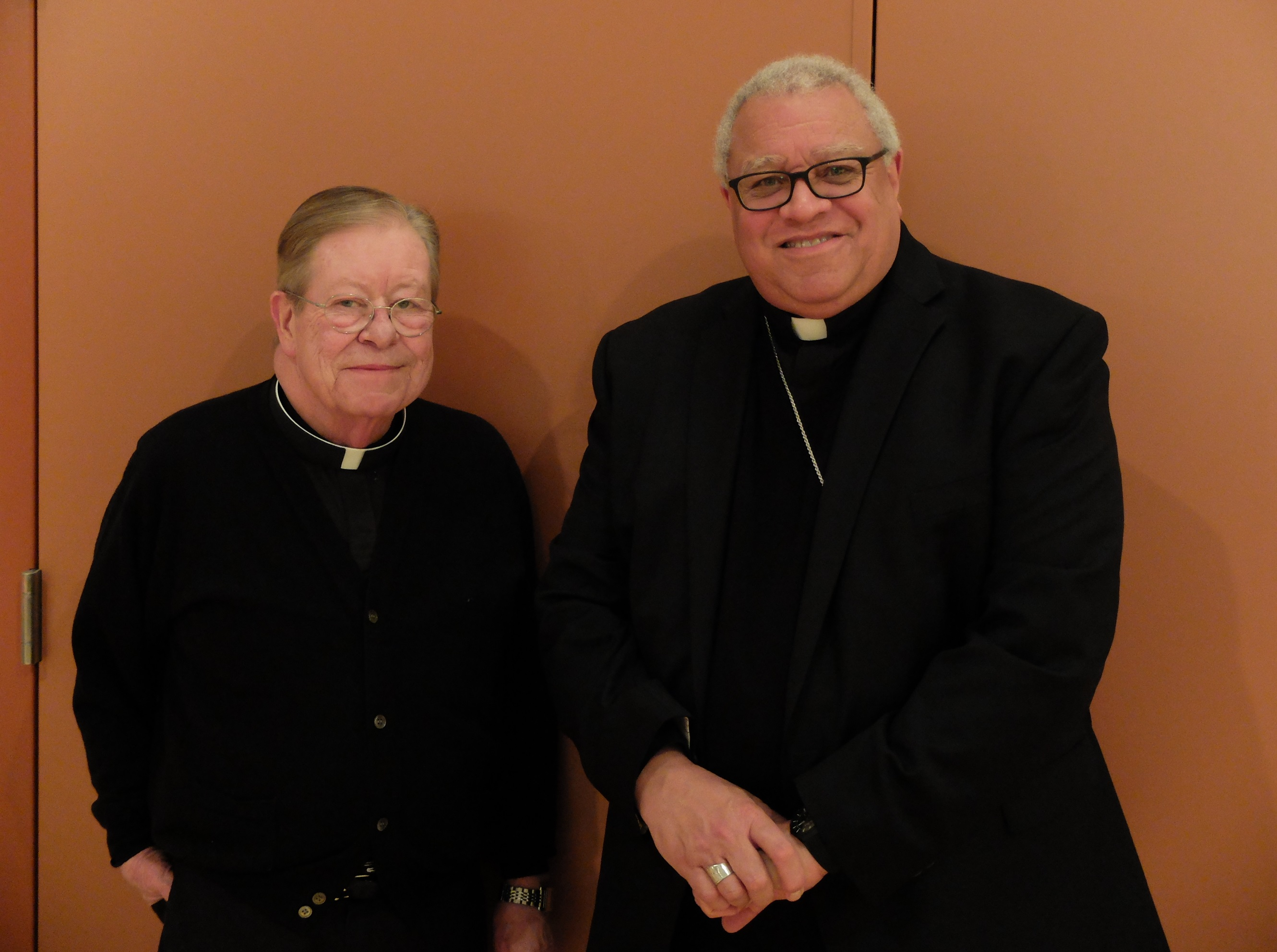 Fr. Terry with Bishop Murry