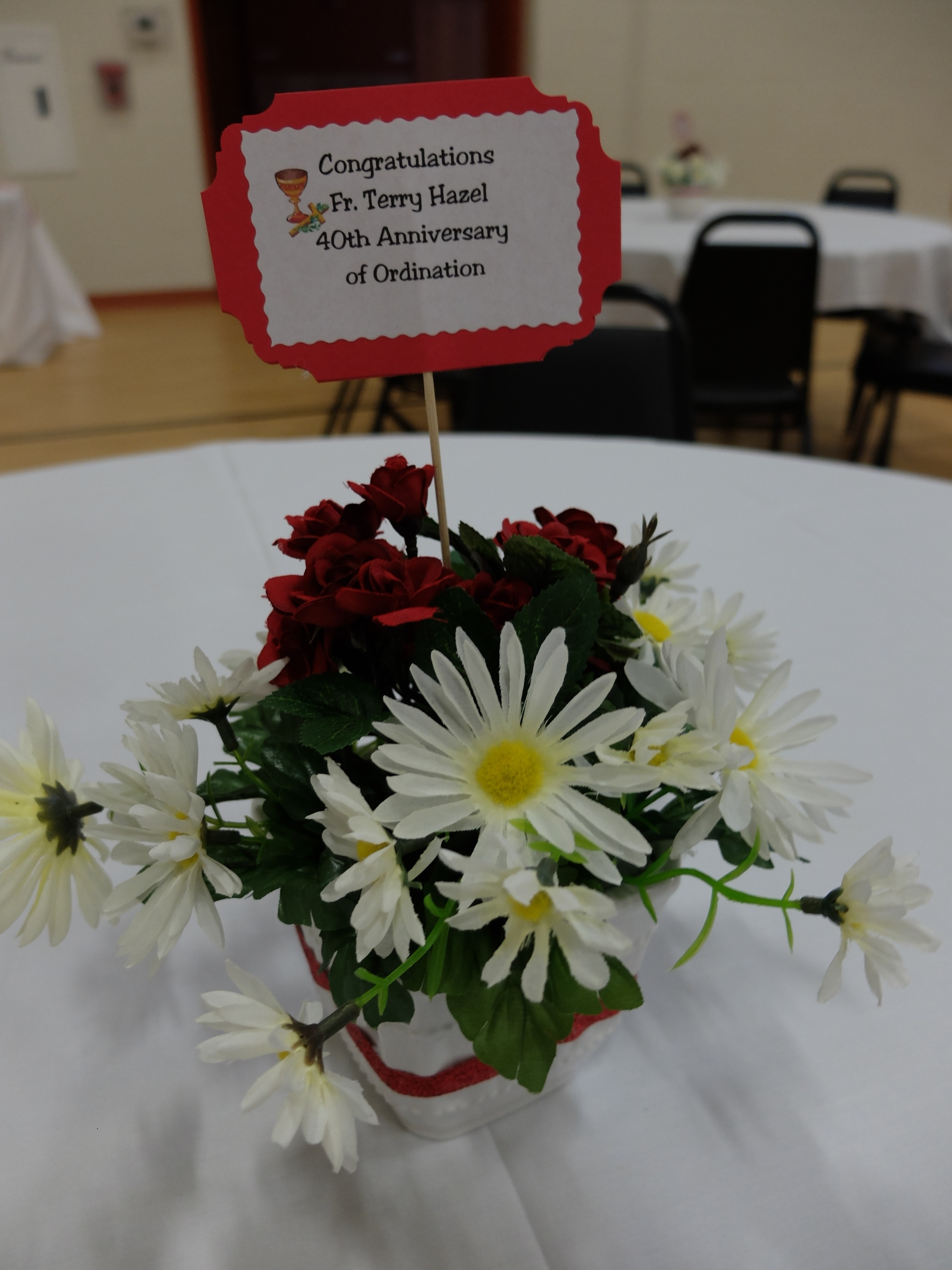 Centerpieces created by Garden Guild