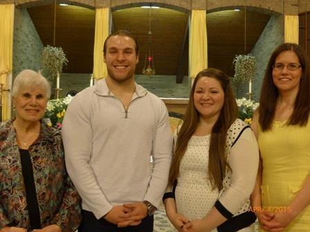 New Catholics With Sponsors