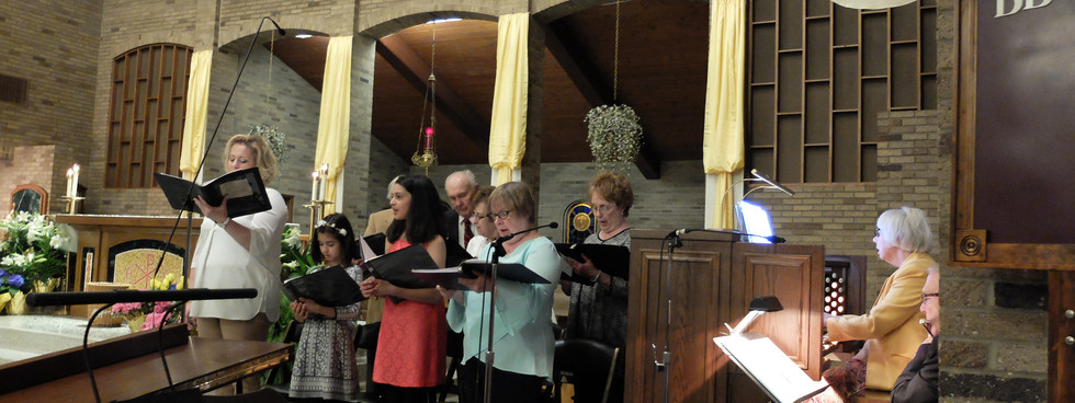 Our Choir and Music Director