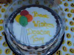 Congratulations Deacon Tom!
