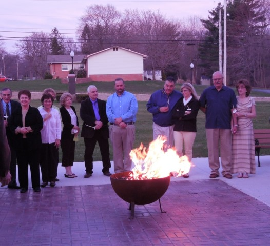 Lighting Easter Fire