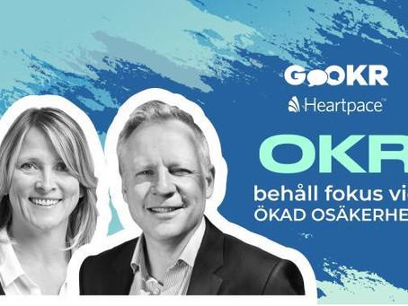 OKR - Behåll fokus vid ökad osäkerhet! Anmäl dig till webinar 2 juni.