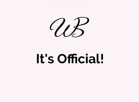 It's Official!