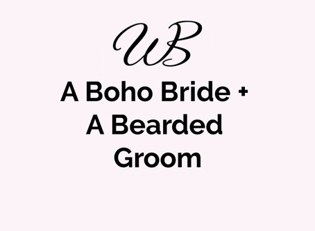A Boho Bride + A Bearded Groom + A Stunning Arch...