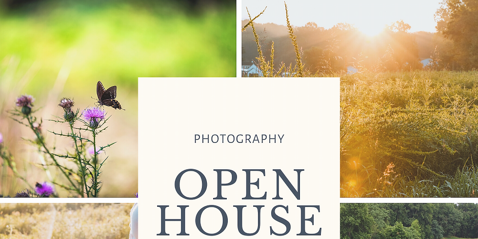 Photographer's Open House