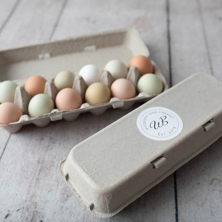Happy Hens Lay Healthy Eggs