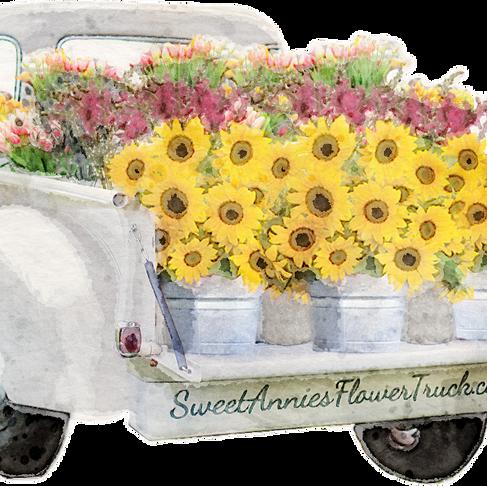 Sweet Annie's Flower Truck Branding + Design