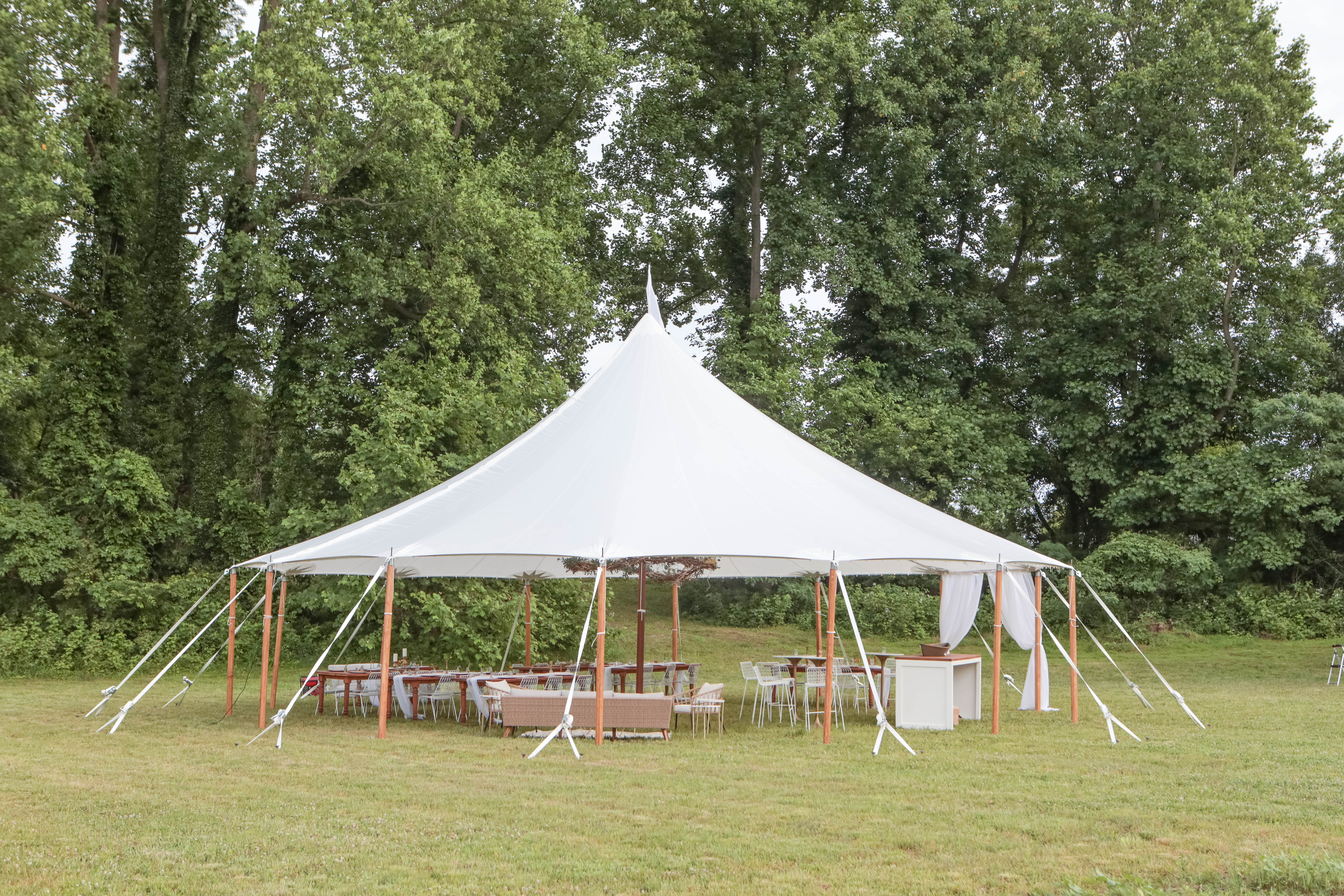 Tent Styled Shoot