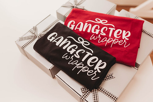 Gangster Wrapper T-Shirt (Black)