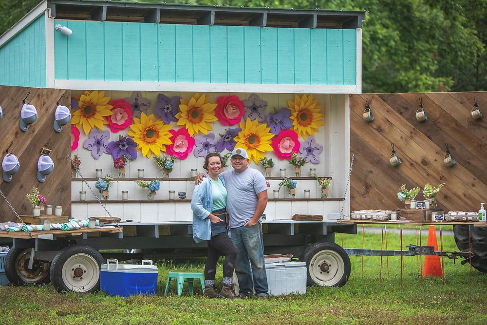 Wildberry Market Stand Trailer, Farmers Market