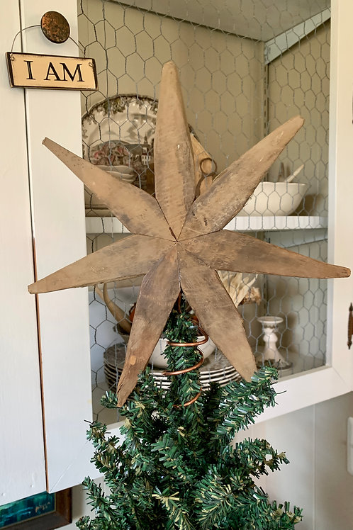 Farm Sticks Christmas Tree Topper