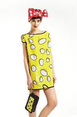 Cheese Sequin Dress