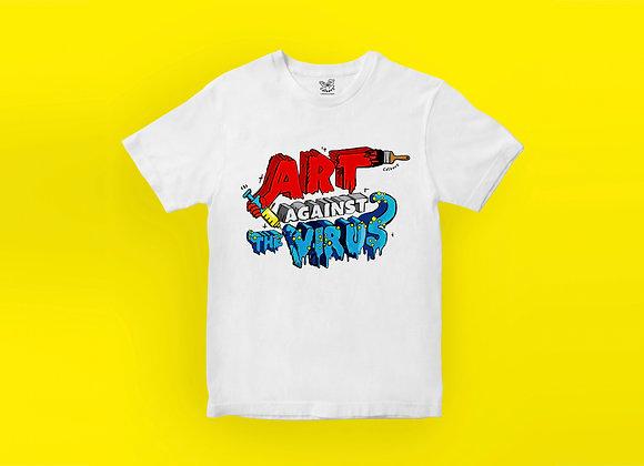 Art Against The Virus T-shirt - Logo