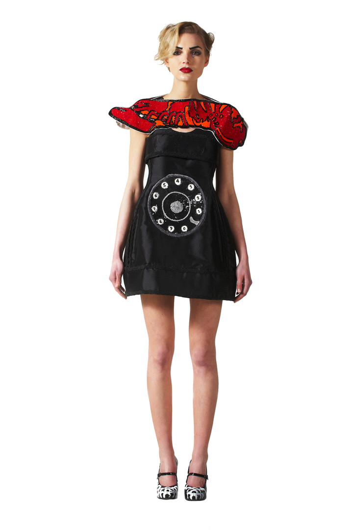 Lobster Telephone Dress