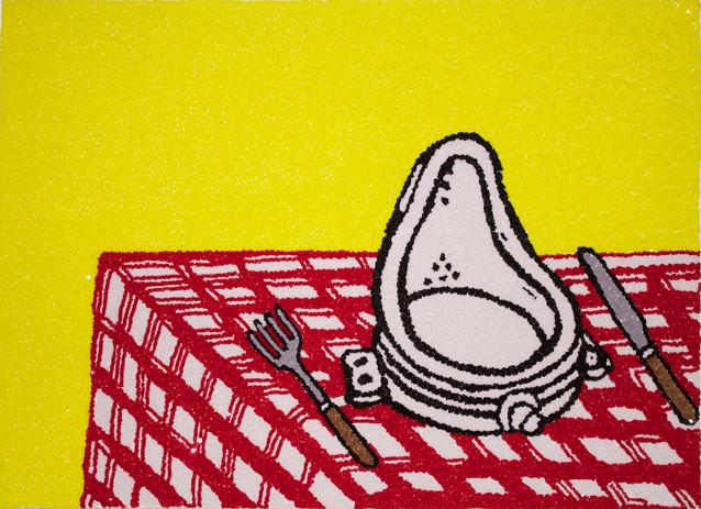 Duchamp's Dinner, 2014