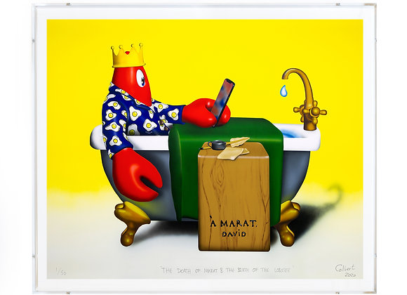 THE DEATH OF MARAT & THE BIRTH OF THE LOBSTER - SIGNED LIMITED EDITION PRINT