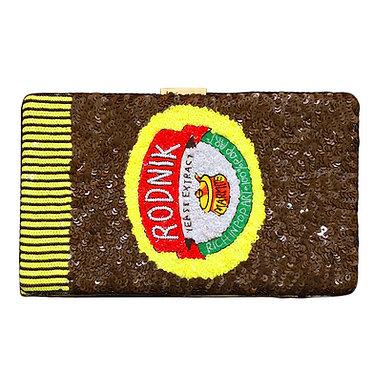 Marmite Sequin Clutch