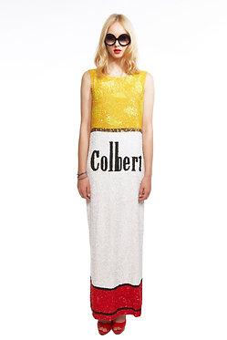 Cigarette Sequin Dress