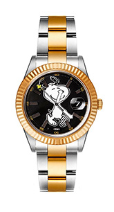 watch grey gold