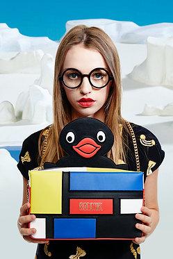 Pingu Mondrian Handbag