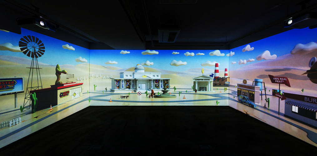 LOBSTER LAND PROJECTION VIEW