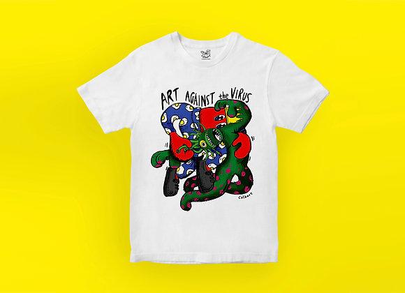 Art Against The Virus T-shirt - Graphics